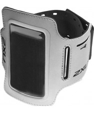 2XU UQ2409G-SIL-BLK-OSFA Silver ipod houder