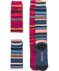 Protest 9613072-337-39-42 Dames costa duo pak sokken