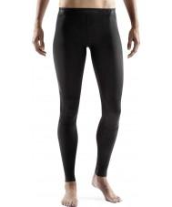 Skins Dames ry400 zwarte compressie lange panty's