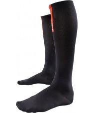 2XU WA1956E-BLK-L Ladies PWX zwarte compressie sokken voor herstel - maat L