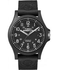 Timex TW4B08100 Mens expeditie zwarte stof band horloge